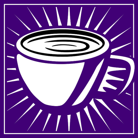 coffee warhol purple
